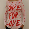 """PULOVER """"LOVE FOR LOVE"""""""